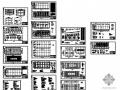 山西某化工厂压滤厂房建筑结构图