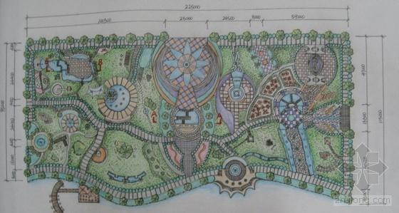 某滨水公园景观设计