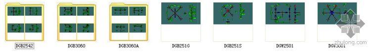 点式幕墙CAD图块_1