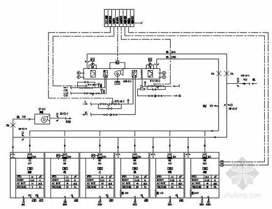 生物工程洁净空调施工图纸