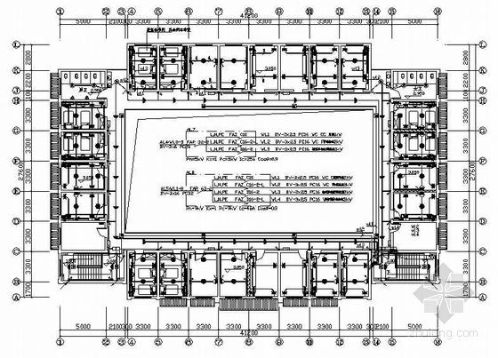 某两层宿舍电气施工图