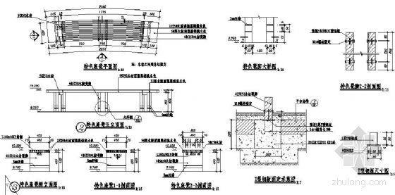 特色木座凳节点详图