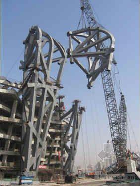 提高钢结构现场焊缝的一次合格率(奥运工程)