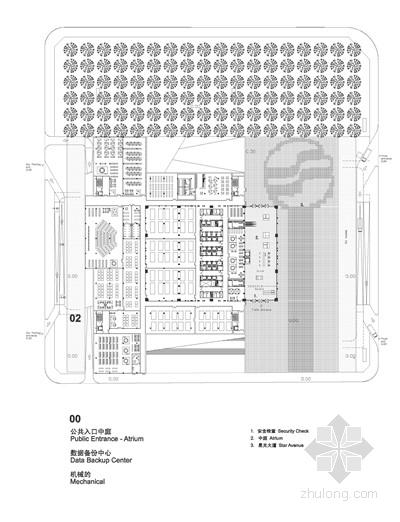 企业办公楼平面图