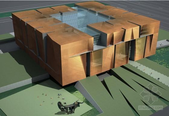 [云南]框架结构省博物馆工程施工质量创优汇报(54页 附高清图片)