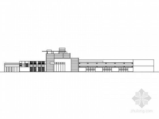 [北京]某三层科普展览馆建筑施工图(含效果图)