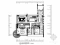 [原创]高级样板间简约大气三居室内设计CAD施工图(含效果图)