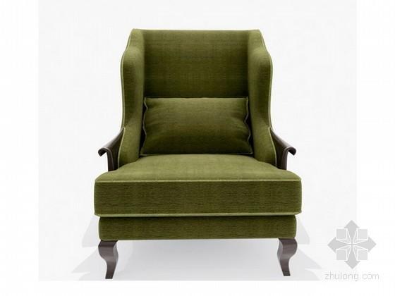 欧式新古典单人沙发