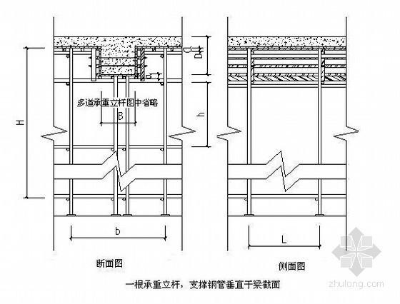 框架结构国际大厦高层住宅转换层施工方案