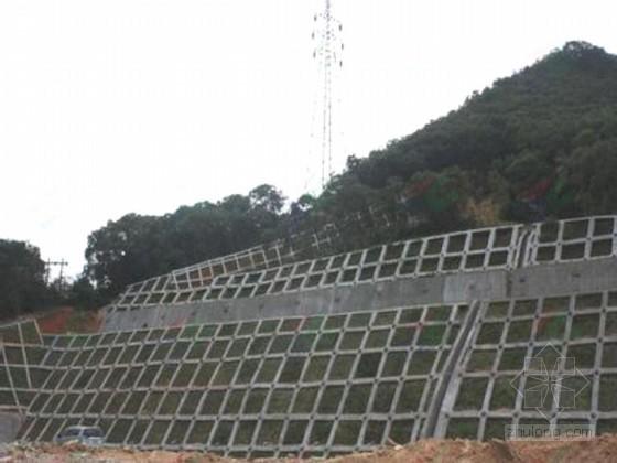 [贵州]公路改扩建工程路基衡重式挡土墙支护施工方案