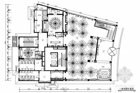 [山西]南郊新经济开发区欧式豪华风格酒店施工图(效果图)