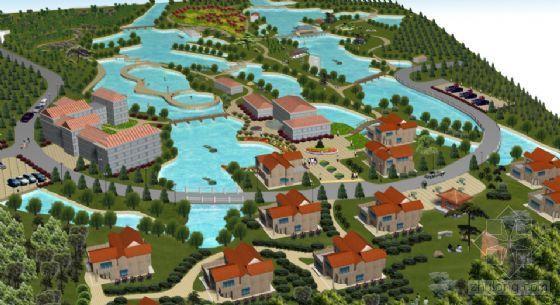 宣威市龙津森林公园度假村详细规划-4