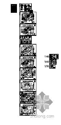 [温州]某知名集团办公楼建筑结构施工图-3