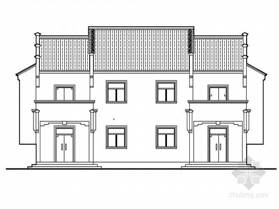 某二层农村小康住宅方案(带效果图)