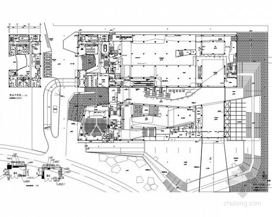 [安徽]博物馆强弱电施工图86张(系统全面)