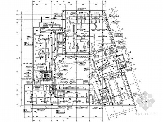 [浙江]博物馆空调通风全套设计施工图(工艺空调,详图较多)