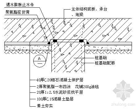 西安某综合楼防水工程施工方案