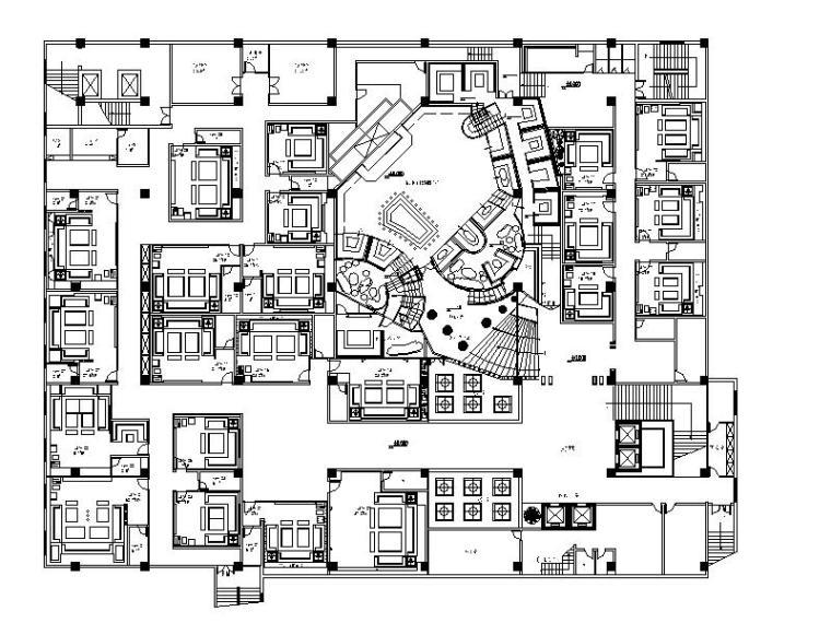 [浙江]时尚酒吧设计施工图(含实景照)