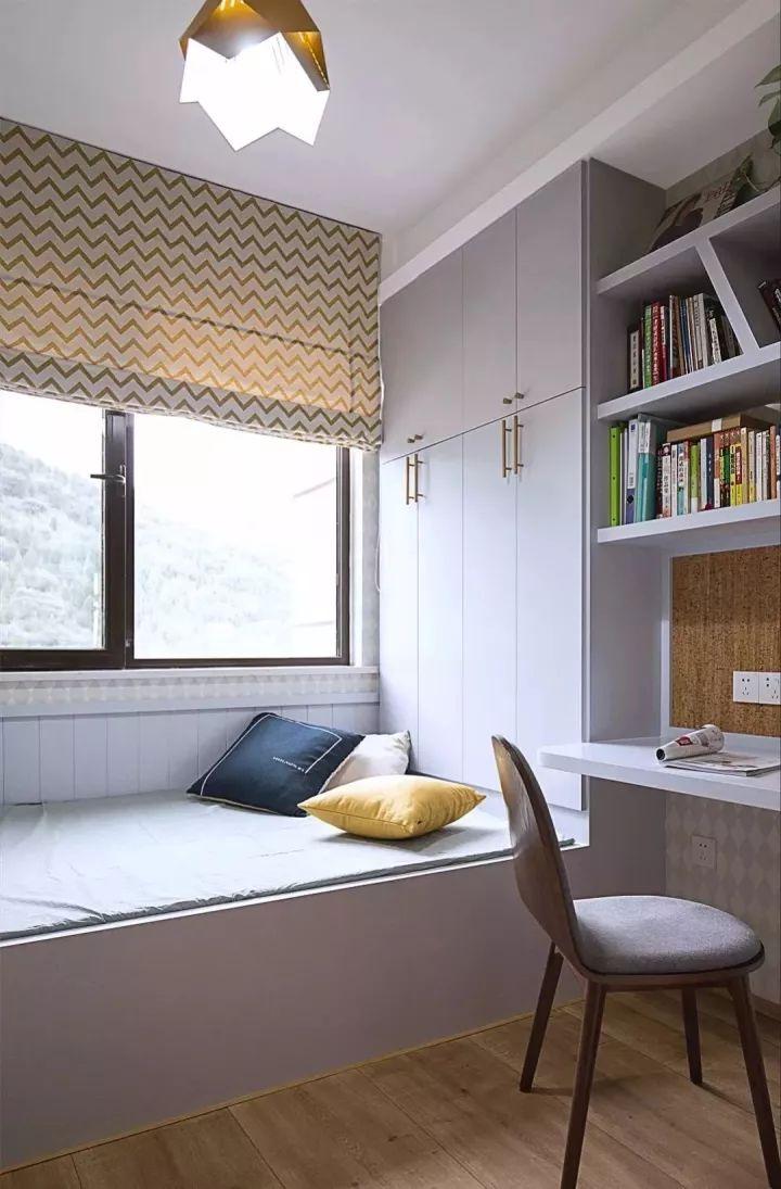 榻榻米床+柜子如何组合设计?35个案例告诉你..._9