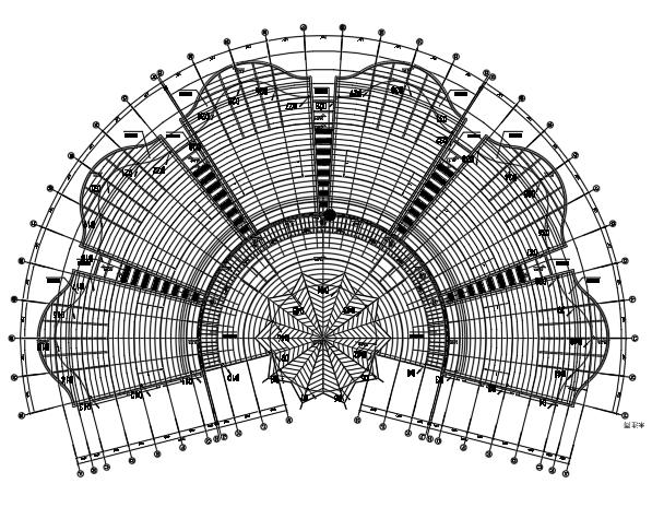 同济博物馆一类高层建筑强弱电电气施工图