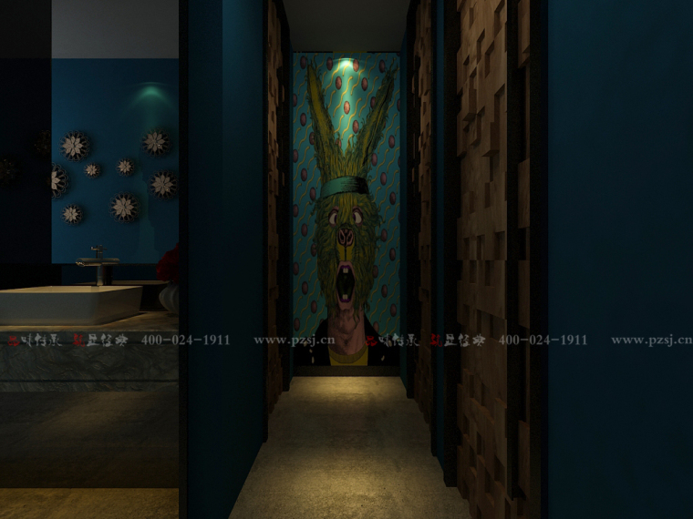 [休闲吧设计]沈阳市中山路热情的斑马艺术休闲吧项目设计-11.jpg