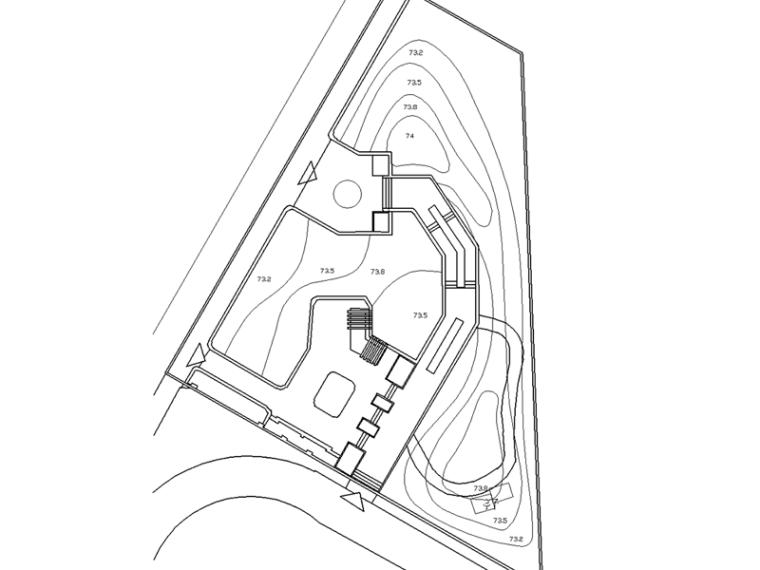 某房地产小区小公园施工图