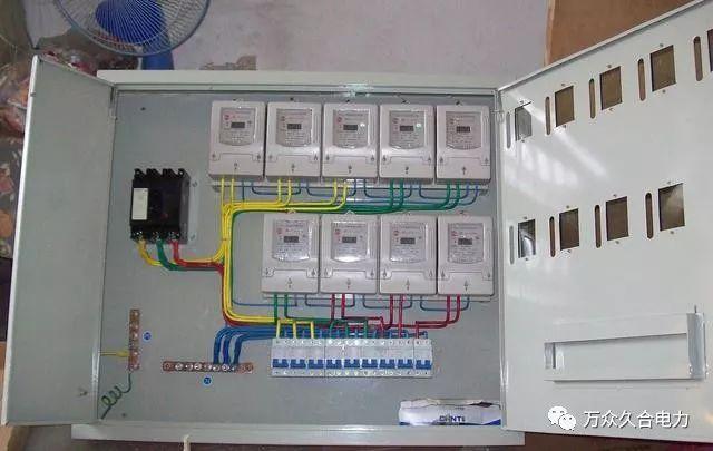 [电气分享]配电箱规格型号配电箱接线图配电箱如何选购和安装方法