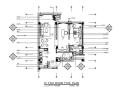 [北京]高档养老院两居室客房室内设计施工图