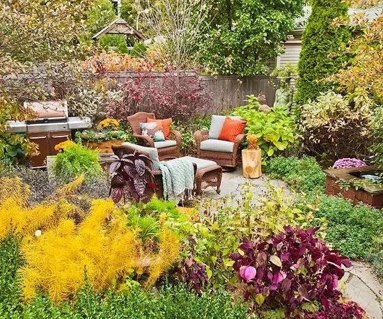 花园驻新颜,景观色彩搭配_2