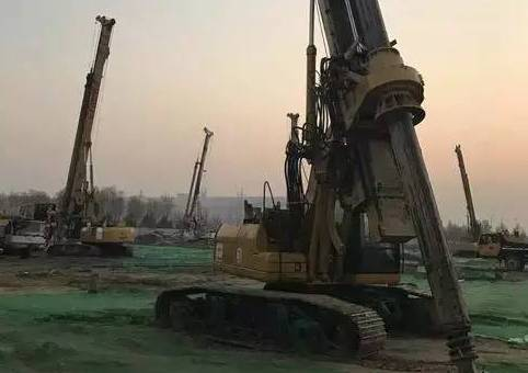 旋挖钻机成孔、成桩过程中常见的问题以及解决方案