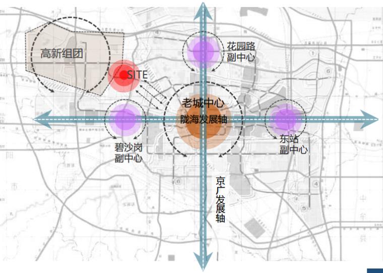 [河南]郑州西流湖生态智慧新城城市设计(滨水)B-1区域背景