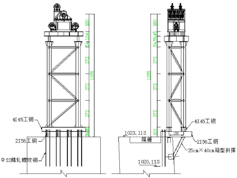 [湖北]钢桁架悬索特大桥缆索吊安装施工方案