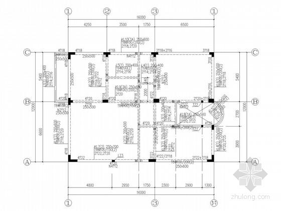 13层L型框支剪力墙住宅结构施工图