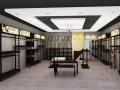 某时尚品牌牛仔服装专卖店室内装修设计方案