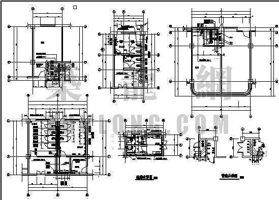 十层综合大楼的给排水全图