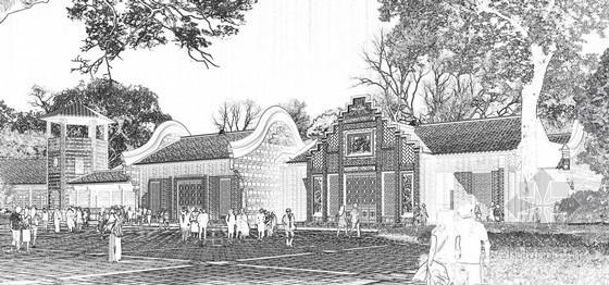 [四川]某博物馆小镇游客接待中心方案文本