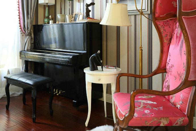 现代东南亚风格小户型客厅设计图赏