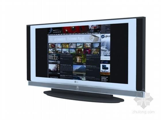 智能电视3D模型下载