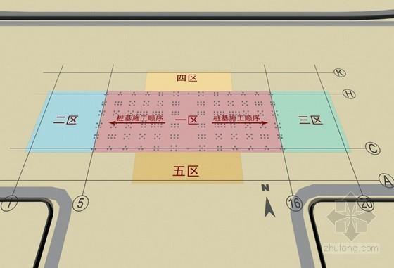 [天津]框架剪力墙结构图书馆工程施工组织设计(210页技术标)-钻孔灌注桩施工流程图