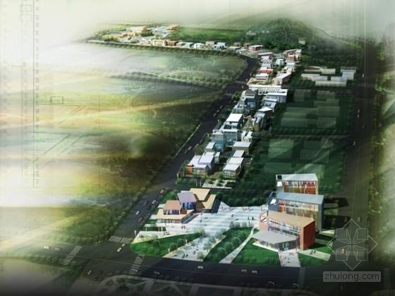 [山东]高校商业公园景观方案设计文本