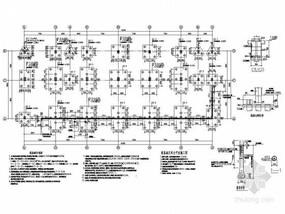 [湖南]六层框架结构宿舍楼结构施工图(含底部与顶部架空层)
