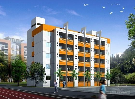[毕业设计]宿舍楼施工图建筑装饰工程预算书(含工程量计算83页)