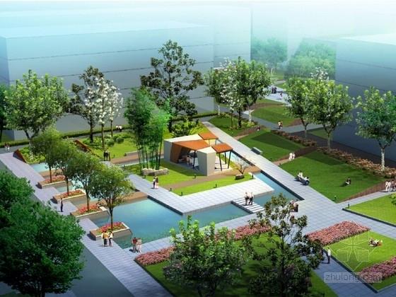 [南京]轻松阳光校园景观规划设计