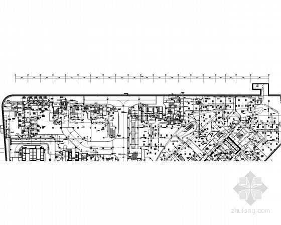 [广东]多层商业酒店综合建筑地下室通风及防排烟系统设计施工图(消防设计)
