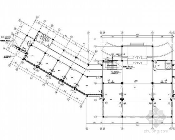 [山东]办公楼采暖系统设计施工图(市政集中供热)