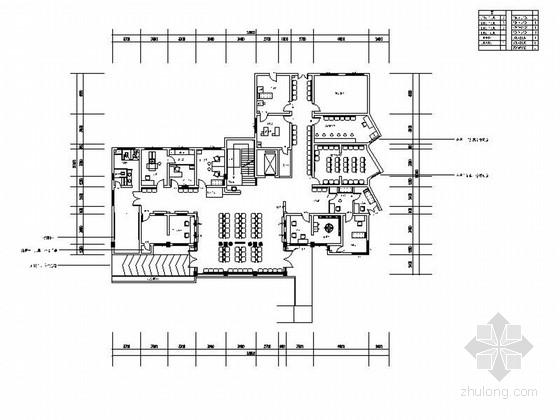 [重庆]现代六层妇幼保健医院室内维修改造施工图
