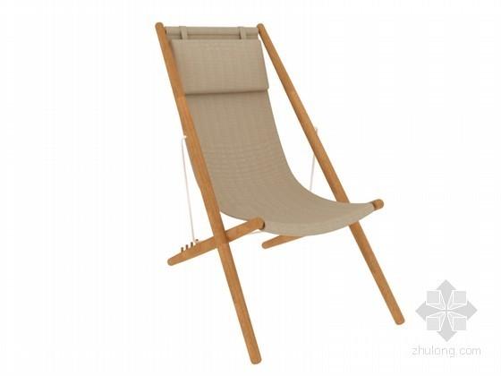 现代座椅3D模型下载