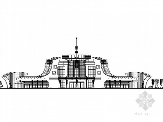 综合客运站建筑设计施工图纸