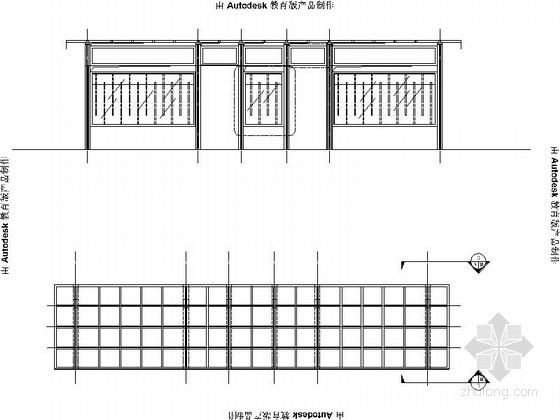 [安徽]经济开发区公交车站景观规划施工图