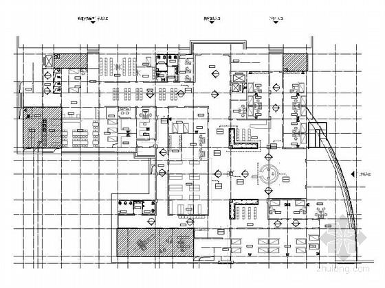 [湖南]高新区五层现代卫生院室内设计装修施工图